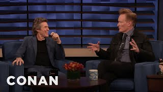Willem Dafoe Is A Fan Of Conan's 1996 Interview With Abel Ferrara - CONAN on TBS