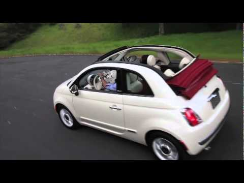 2012 fiat 500 cabrio youtube. Black Bedroom Furniture Sets. Home Design Ideas