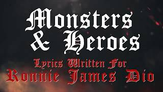 APPICE  - Monsters and Heroes (Lyric Video)
