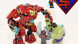 Building the LEGO Avengers Age Of Ultron Hulkbuster Smash Set in 2 Minutes Or Less!