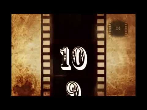 Video Countdown 24 Old Film  10 Seconds video