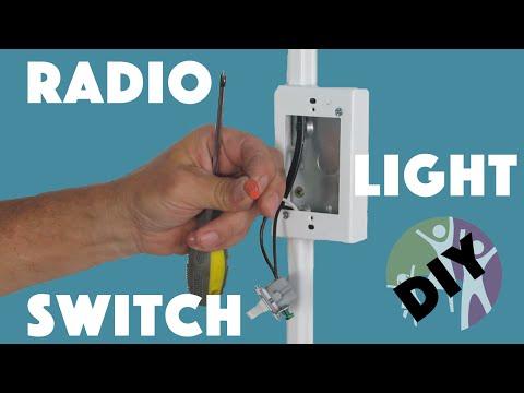 Radio Adapter for Autistic Children (light switch)