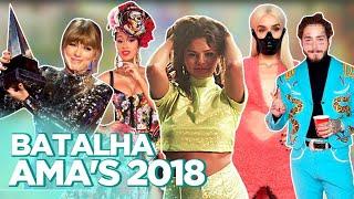 AMA's 2018: LOOKS, SHADE DE CARDI B, CLIPE TAKI TAKI, TAYLOR BATENDO RECORD... | Foquinha