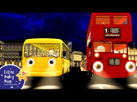 Wheels On The Bus | Part 7 | Nursery Rhymes | Hd Version By Littlebabybum video