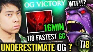 OG vs VGJ.Thunder [Game 2] - GGWP TI8 FASTEST GAME - #TI8 The International 8 DOTA 2
