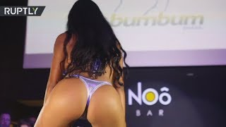 Download Miss BumBum 2017 contest takes over Sao Paulo 3Gp Mp4