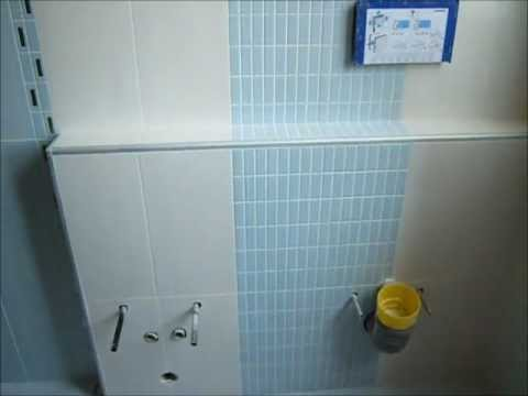 Ristrutturazione bagno moderno con piatto doccia mosaico in opera youtube on repeat - Bagno moderno mosaico ...