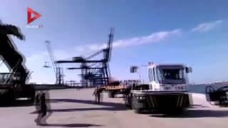 المركب المضبوطة بشحنة المواد المخدرة بالمياه الإقليمية المصرية