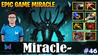 Miracle - Terrorblade Safelane | EPIC GAME MIRACLE | vs MC (Timbersaw) | Dota 2 Pro MMR Gameplay #46