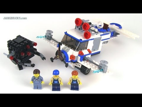 LEGO Movie set review: The Flying Flusher 2-in-1. set 70811!