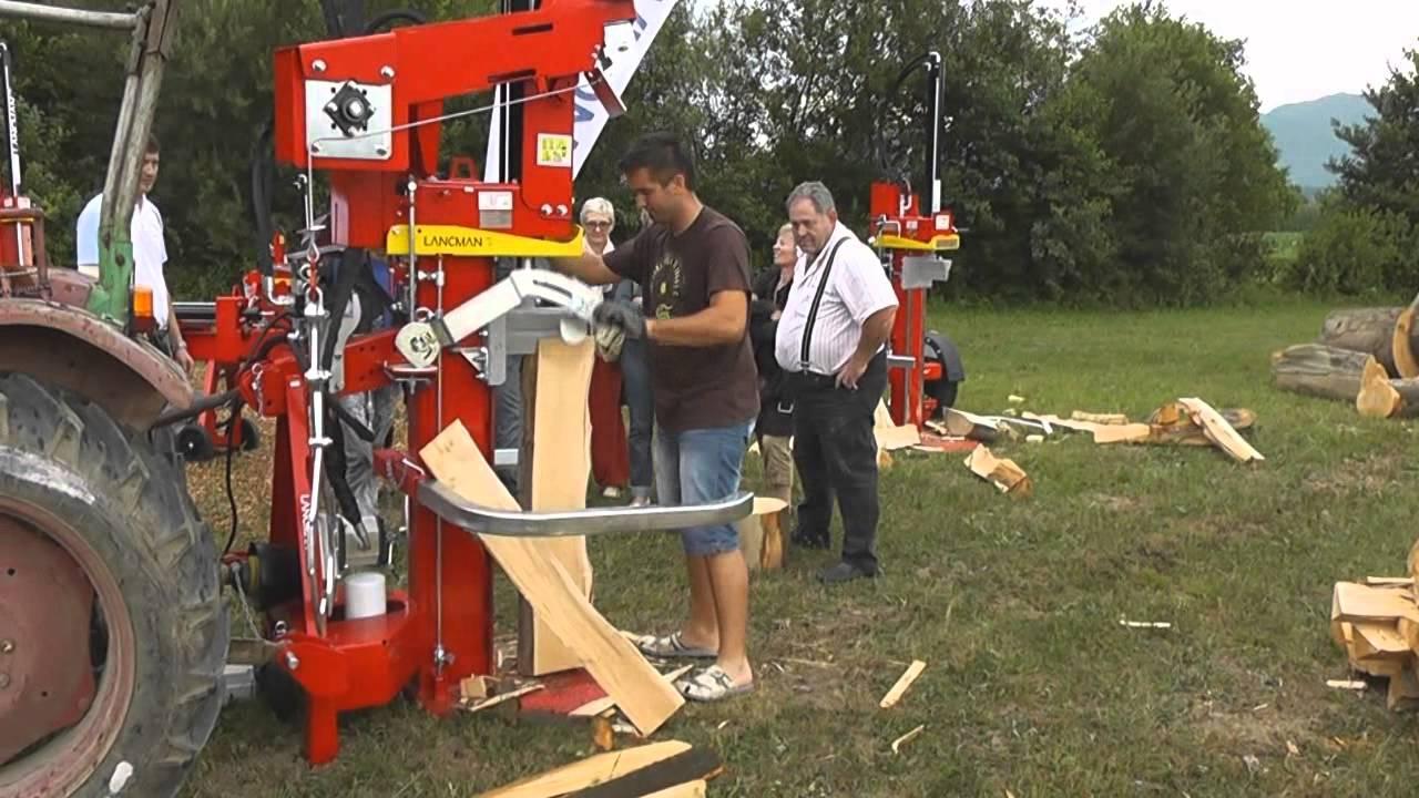 Holzspalter Mit Winde Holzspalter Mit Seilwinde