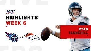 Every Ryan Tannehill Run & Throw vs. Broncos | NFL 2019 Highlights