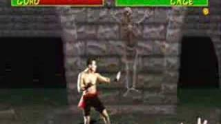 Mortal Kombat arcade Johnny Cage 2/2