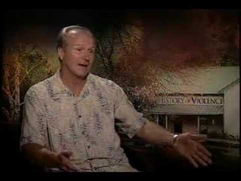 William Hurt interview for A History of Violence