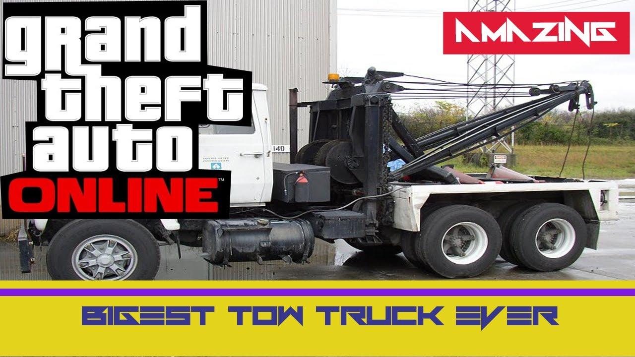Tow Truck Location Gta 5 Online Gta 5 Online Big Tow Truck