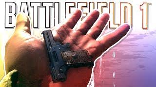 BATTLEFIELD 1 FUNTAGE! - Tiny Pistol, Photoshoot & The Longest Wheelie! (BF1 Funny Moments)