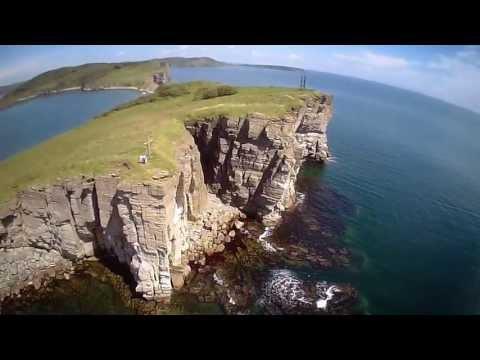 Episode 2: Beautiful nature of VLADIVOSTOK islands FPV quadcopter flight / Полеты над островами (HD)
