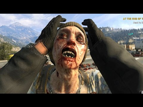 Dying Light The Following Co Op Rampage with Gold Weapons  Ultra GTX Potato