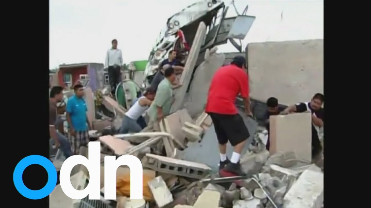 Devastating tornado kills 11 in Mexican border city of Ciudad Acuna