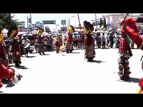 Matachines en San Lorenzo, Cd Juárez