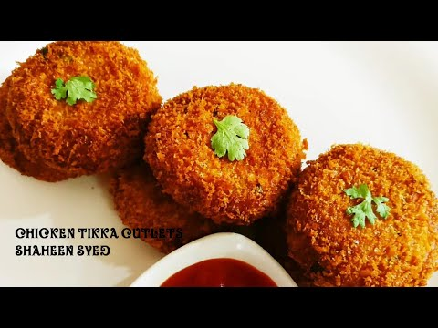 Chicken Tikka Cutlets | Chicken Cutlets | Cutlet Recipe