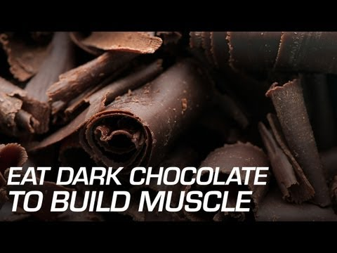 Eat Dark Chocolate to Build Muscle
