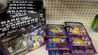 Episode 323 - Toy Hunt for Transformers G1 Reissue Soundwave & Cassettetrons & More!