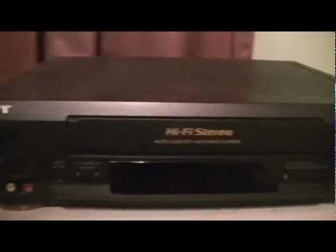 Sony SLV-N50 VHS VCR Overiew