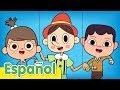 Pinocho Canción |  Música Infantil Para Bailar