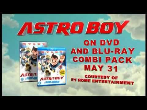 ASTRO BOY. Official UK Blu-Ray and DVD Release Feature Trailer.