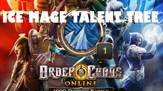 Ice Mage Talent Tree (Frost Phantom Meteor Spec): Order and Chaos 2.6.0