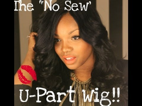 The No-Sew U-part wig (Hot Glue Gun Method)
