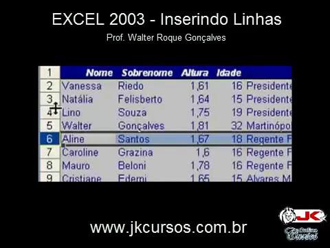 Excel 2003 (Coletânia) - Curso Completo e Gratuito