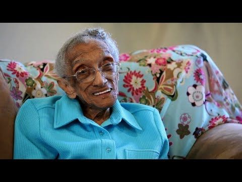 "106 Years Old and Voting for President Obama: ""Red, White and Blue, Going Forward!"""