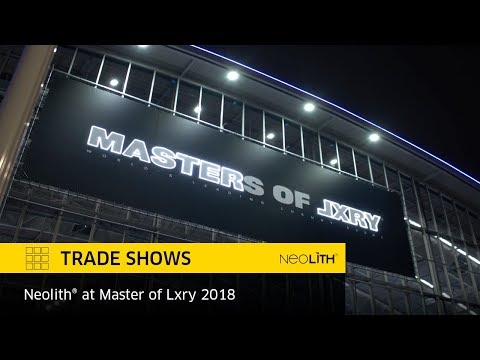 Neolith® at Master of Lxry - Amsterdam - 2018