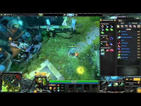 From LoL to DotA 2 - Mid game and core items