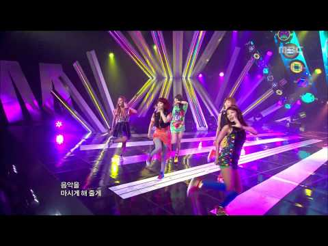Wonder Girls - Like this, 원더걸스 - 라이크 디스, Music Core 20120616