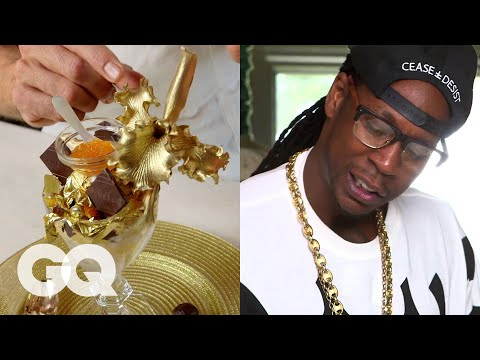 Eating $1k Ice Cream Sundaes With 2 Chainz - Gq's Most Expensivest Shit video
