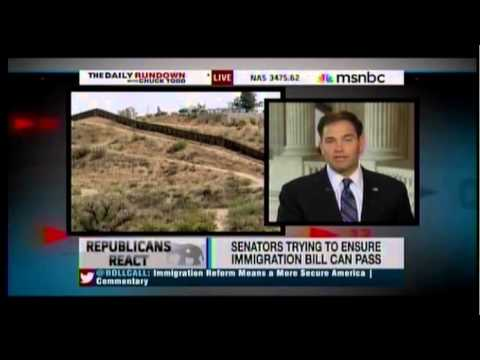 Senator Rubio On The IRS Scandal And More W/ MSNBC's Chuck Todd