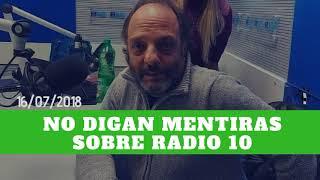 Baby Etchecopar - No Digan Mentiras Sobre Radio 10