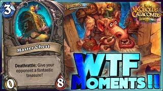 Hearthstone - Kobolds and Catacombs WTF Moments - Funny Rng Plays