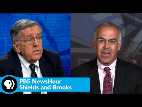 Shields and Brooks discuss Clinton on voting rights, Republicans on Islamic State
