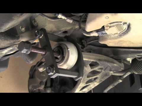 Replacing front control arm bushings on BMW 3 series 84 thru 05 (E30. E36. E46)