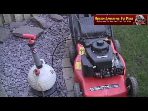 Repairing Lawnmowers For Profit Part 71 (Mountfield SP454 Microswitch Pull Cord & Smoke Repair)
