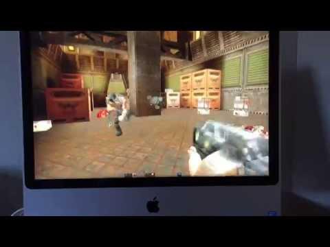 Quake II playing on OS X Yosemite