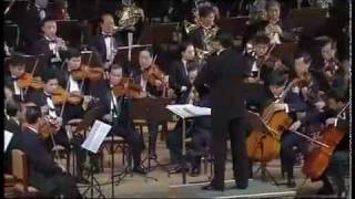North Korean Philharmonic Orchestra Performance Russian Soviet Songs
