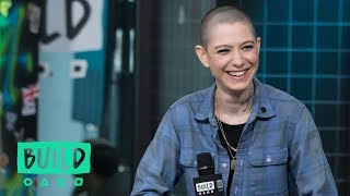 "Asia Kate Dillon Drops By To Speak On Season 3 ""Billions"""