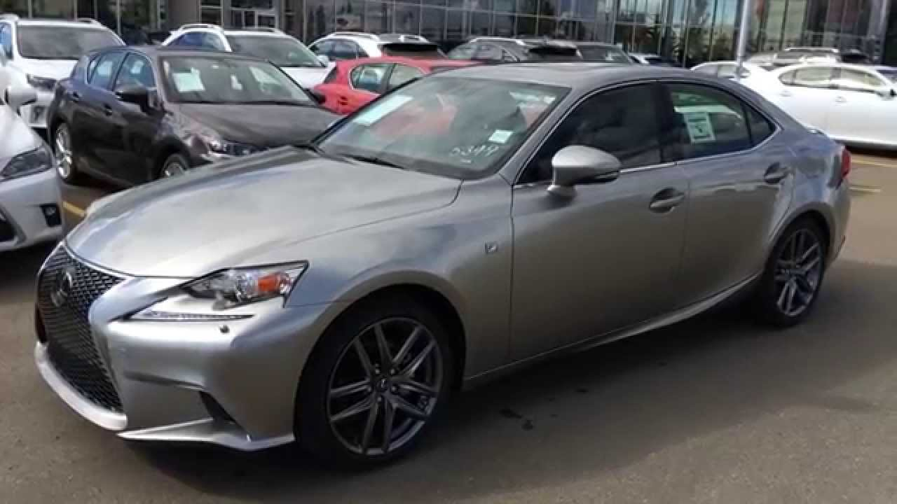 Atomic Silver 2015 Lexus IS 250 AWD F Sport Series 3
