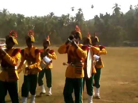 53rd State School Youth Festival,malappuram 2013,band Display-team Eranakulam video