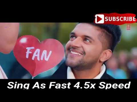 Sing As Fast As 4.5x Speed1 #ZEEmusiccompany